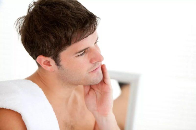 Сухость кожи — причины и лечение у мужчин