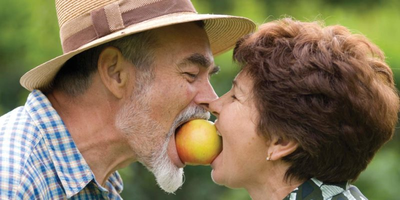 Как правильн опитаться в пожилом возрасте