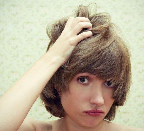 Перхоть чешется голова выпадают волосы