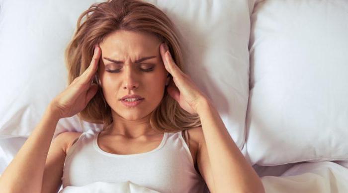 Утренняя головная боль и тошнота