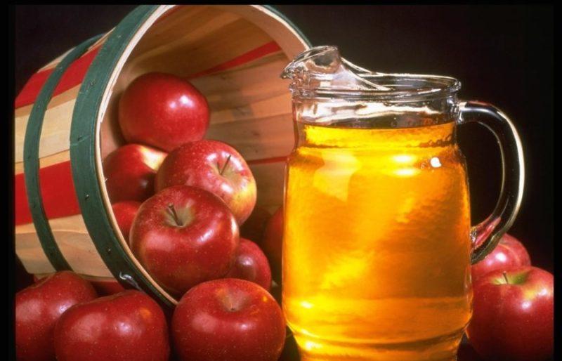 Яблочный уксус понижает давление